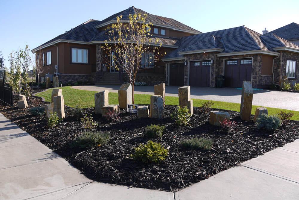 Landscaping plans edmonton : Edmonton landscaping services lotus bobcat service